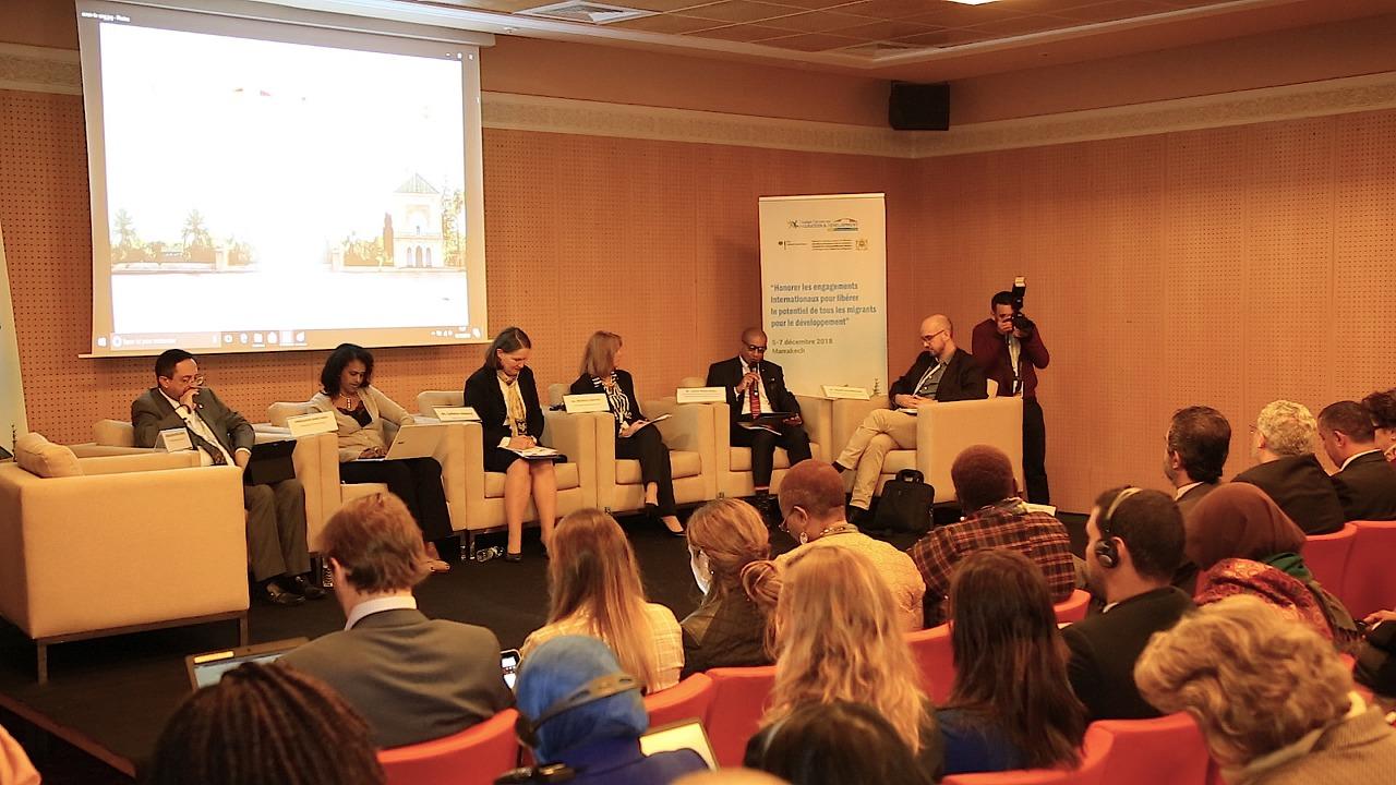 مشاركو المنتدى العالمي للهجرة بمراكش يعترفون بدور المهاجرين كفاعلين في التنمية 2