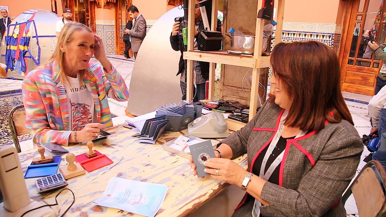 مشاركو المنتدى العالمي للهجرة بمراكش يعترفون بدور المهاجرين كفاعلين في التنمية 1