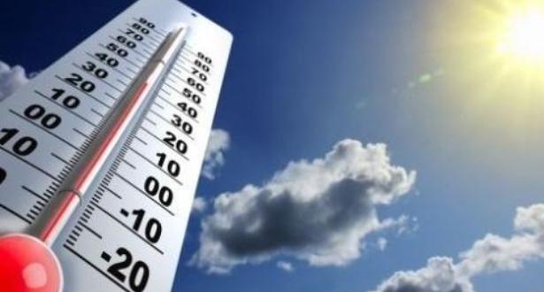 درجات الحرارة الدنيا والعليا المرتقبة غدا الأحد،
