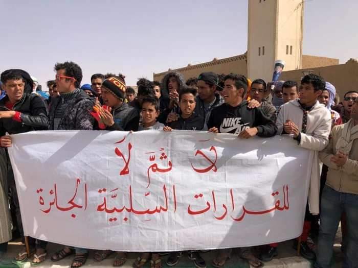 منع نصب الخيم وسط الرمال يغضب صغار مستثمري مرزوكة - صور 2