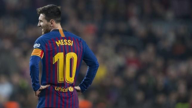 ميسي برشلونة عدم مشاركته أمام فالنسيا
