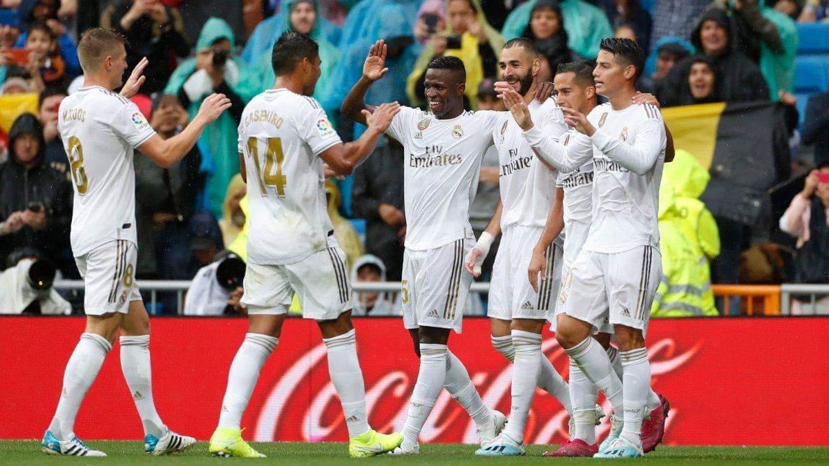 فوز ريال مدريد الإسباني نادي ليفانتي،