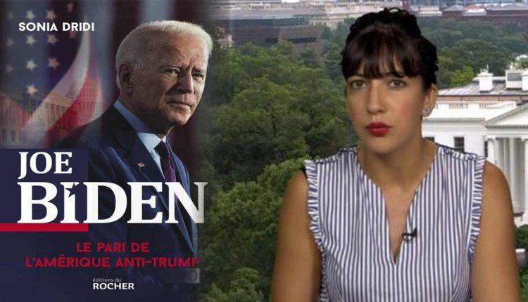 """كتاب سونيا دريدي """"جو بايدن، الرهان على أمريكا المعارضة لترامب"""""""